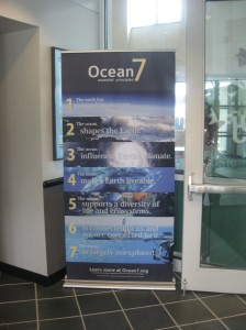 Ocean7 Banner at Seacoast Science Center